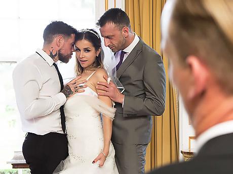 Лучшее порно на свадьбе