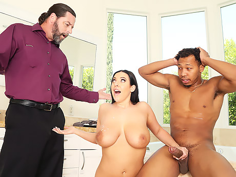 Порно hd качество большие сискм
